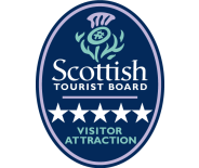 Visit scotland 5 star visitor attraction experience logo