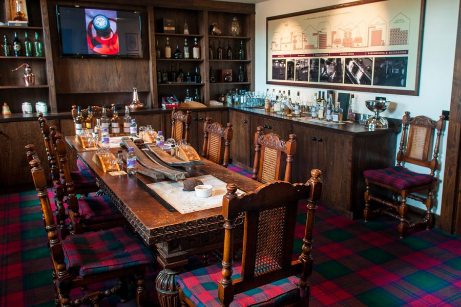 Whisky Tasting Room