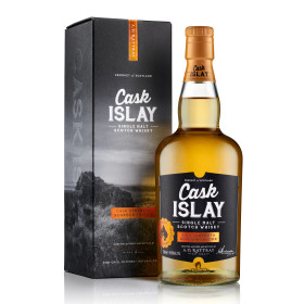 Cask Islay Bourbon Edition Pack Shot