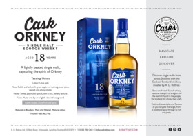 Cask Orkney Sales Sheet